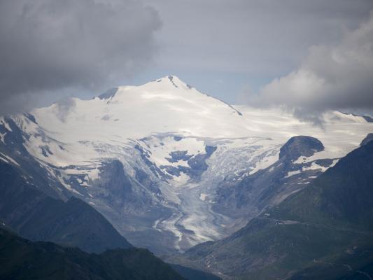 Alpen, Gletscher, Mitten und Umgebung, Mohar, Österreich
