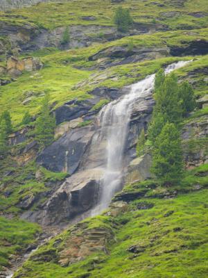 Alpen, Bach, Gebirgsbach, Mitten und Umgebung, Wasser, Wasserfall, Zirknitztal