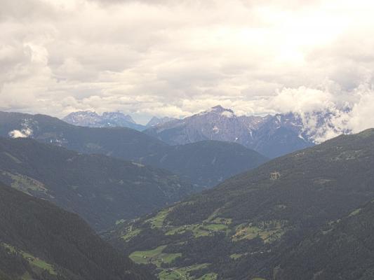 Lienzer Dolomiten, Mitten und Umgebung, Stanziwurten, Wolken, Österreich