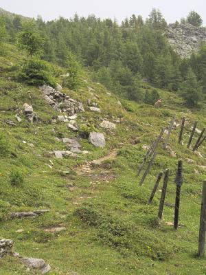 Mitten und Umgebung, Stanziwurten, Österreich