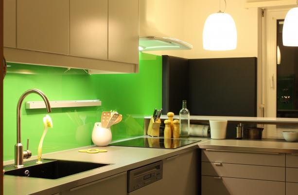 grau, grün, Küche, TS01