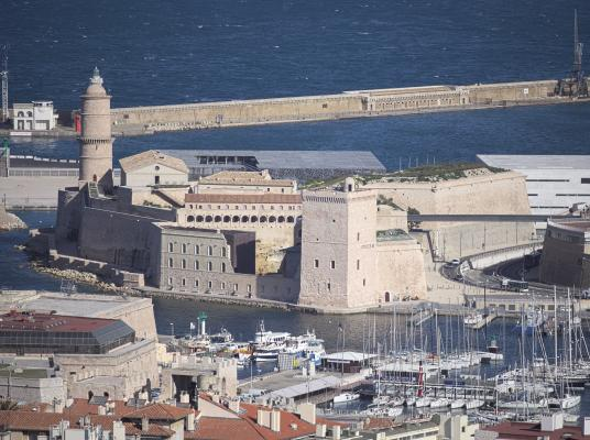 Fort St. Jean, Frankreich, Marseille, Provence-Alpes-Côte d'Azur