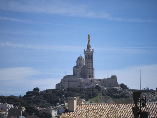 Basilika Notre-Dame de la Garde, Frankreich, Marseille, Provence-Alpes-Côte d'Azur