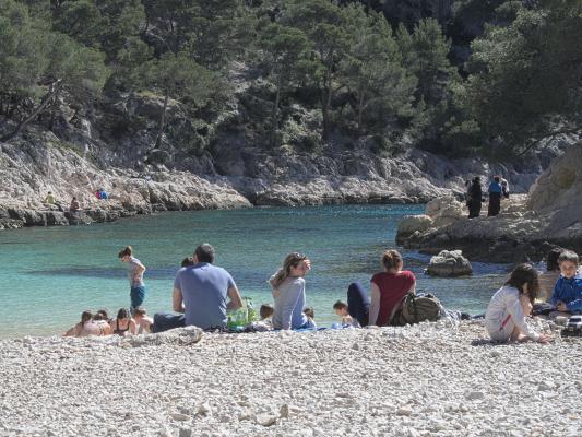 Baden, Calanques, Cassis, Frankreich, Provence-Alpes-Côte d'Azur