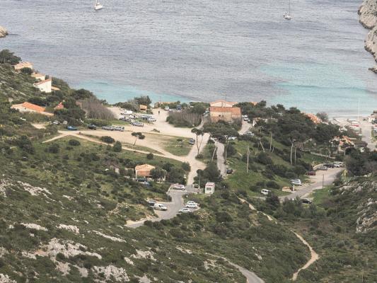 Calanques, de Sormiu, Frankreich, Provence-Alpes-Côte d'Azur