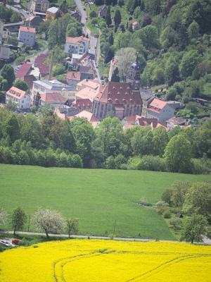 gelb, Lilienstein, Sächsische Schweiz