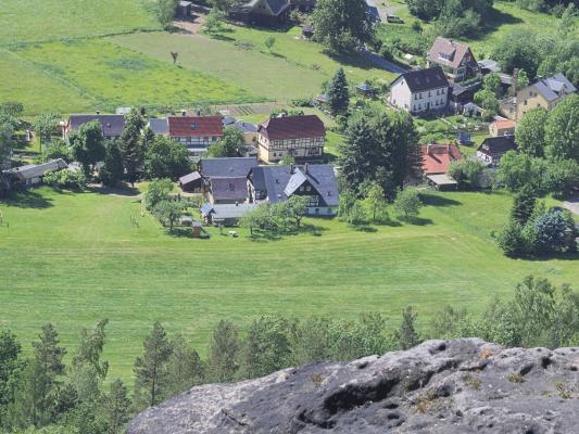 Sächsische Schweiz, Zschirnsteine