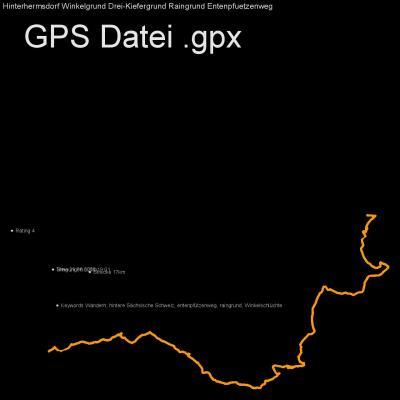 Wandern, hintere Sächsische Schweiz, entenpfützenweg, raingrund, Winkelschlüchte, Höhenmeter 620m, Länge 17km, GPX Route, GPS Daten