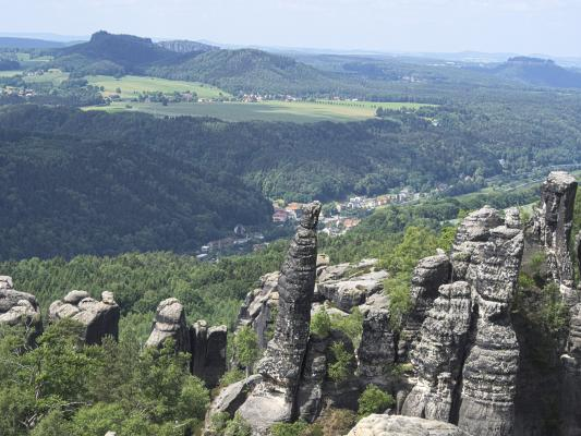 Schrammsteine, Sächsische Schweiz