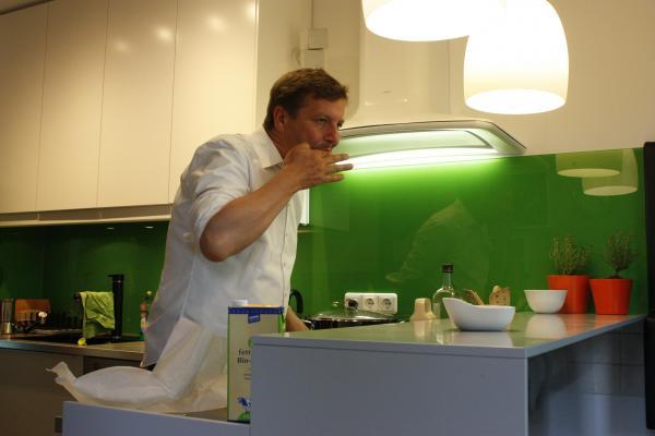 Jens, Küche