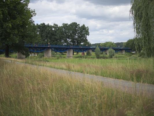 Bad Muskau, Brücke, Eisenbahnbrücke, Oberlausitz
