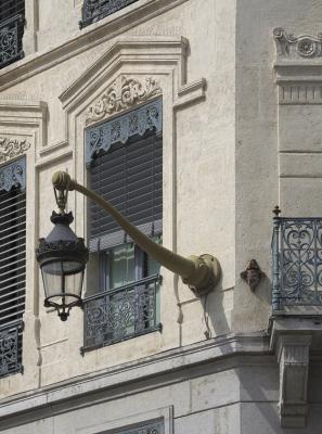 Frankreich, Lampe, Leuchte, Lyon, Rhone