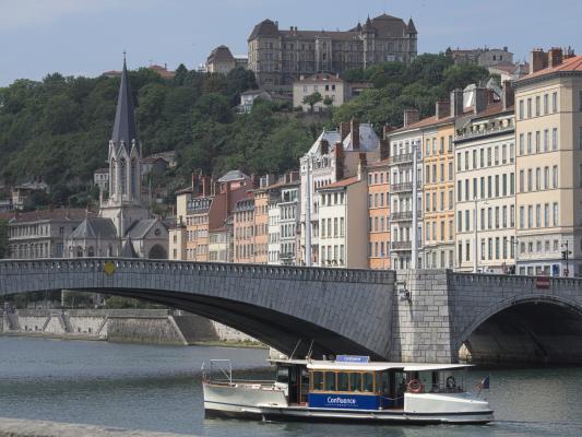 Brücke, Frankreich, Lyon, Rhone