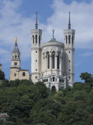 Basilika, Basilika Notre-Dame, Frankreich, Kirche, Lyon, Rhone