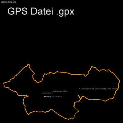 Fahrrad, Baden, schattig, Fisch, Bernsdorf, Höhenmeter 250m, Länge 49km, GPX Route, GPS Daten