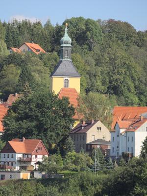 Kirche, Polenztal