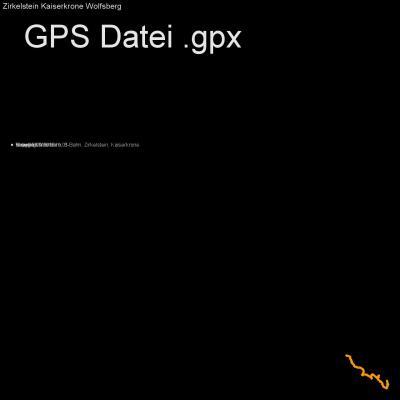 Wandern, S-Bahn, Zirkelstein, Kaiserkrone, Höhenmeter 300m, Länge 13km, GPX Route, GPS Daten