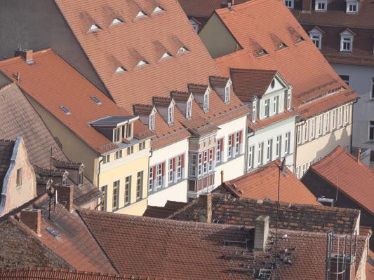 Dachlandschaft, Naumburg