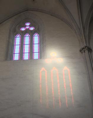 Fenster, grafisch, Kirche, Kloster Pforta, Licht, Naumburg