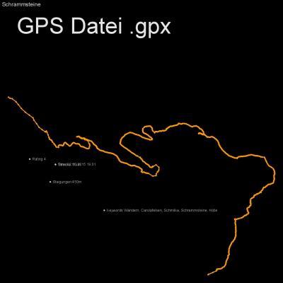 Wandern, Carolafelsen, Schmilka, Schrammsteine, Hölle, Höhenmeter 450m, Länge 11km, GPX Route, GPS Daten