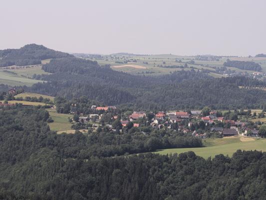 Carolafelsen, Schrammsteine