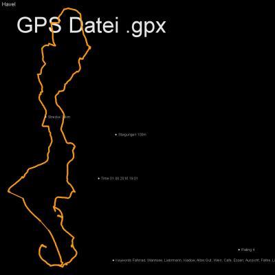 Fahrrad, Wannsee, Liebrmann, Kladow, Altes Gut, Wein, Cafe, Essen, Aussicht, Fähre, Liebermann, Höhenmeter 100m, Länge 38km, GPX Route, GPS Daten