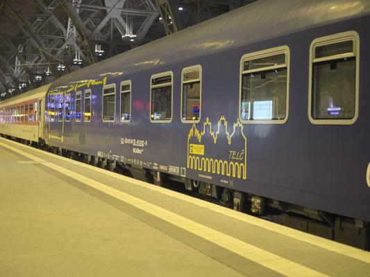Eisenbahn, Leipzig, Schlafwagen