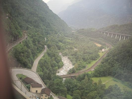 Eisenbahn, Gotthard, Schweiz