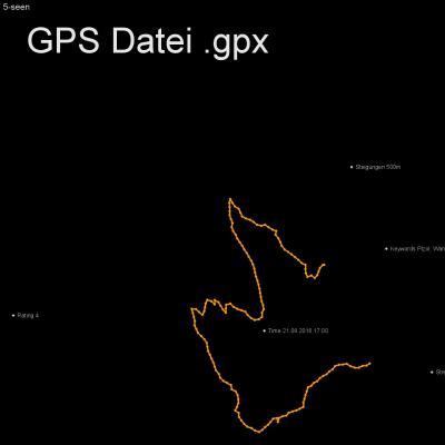 Pizol, Wanderung, Schweiz, See, Höhenmeter 500m, Länge 8, 5km, GPX Route, GPS Daten