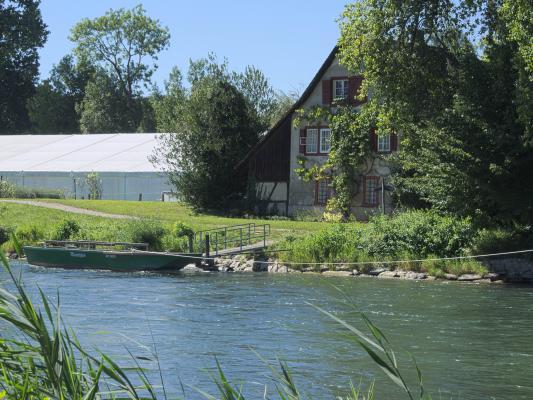 Kloster Fahr, Limmat, Schweiz