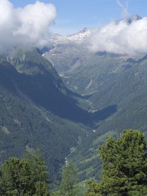 Alpen, Gradental, Mitten und Umgebung, Stanziwurten