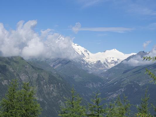 Alpen, Großglockner, Mitten und Umgebung, Stanziwurten