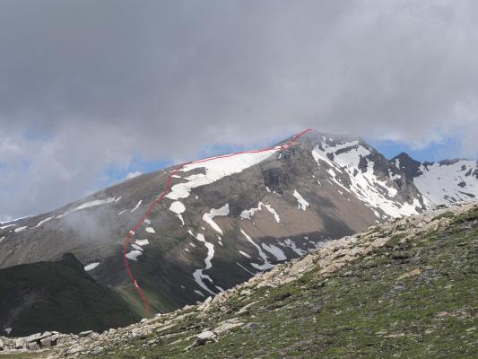 Alpen, Mitten und Umgebung, Sandkopf, Stanziwurten