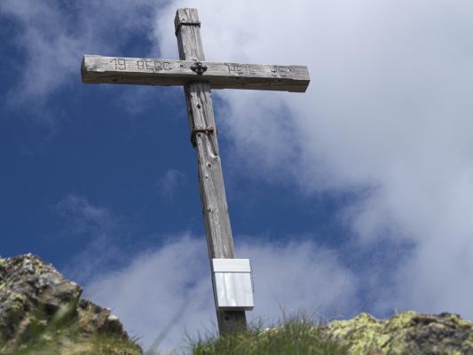 Alpen, Deferegger Gebirge, Gipfel, Gipfelkreuz, Rotstein