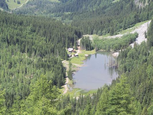 Alpen, Dösental, Konradlacke, Mallnitz, Mitten und Umgebung
