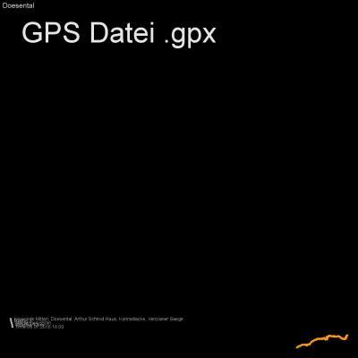 Mitten, Doesental, Arthur Schmid Haus, Konradlacke, Venzianer Saege, Höhenmeter 850m, Länge 12km, GPX Route, GPS Daten
