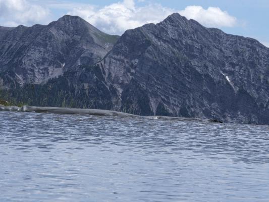 Alpen, Bergsee, Dachskofel, Drautal, Gasthof Bergheimat, Irschen, Mitten und Umgebung, Taxkofel, Wasser, Österreich