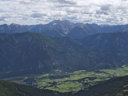 Alpen, Dachskofel, Drautal, Gasthof Bergheimat, Irschen, Mitten und Umgebung, Taxkofel, Österreich