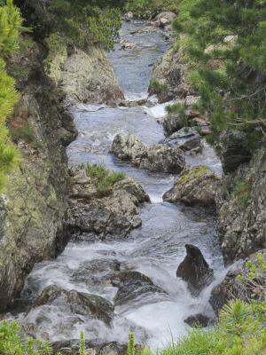 Alpen, Bach, Bärenebenhütte, Gößnitzalm, Kreuzeckgruppe, Mitten und Umgebung, Wasser, Österreich