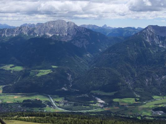 Alpen, Hochtristenhaus, Knoten, Mitten und Umgebung, Österreich
