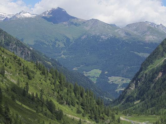 Alpen, Gradental, Mitten und Umgebung, Österreich