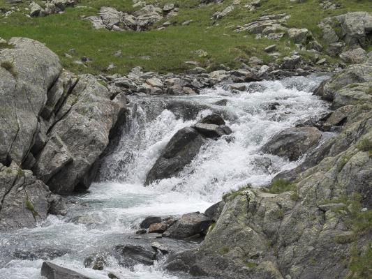 Alpen, Bach, Gradental, Mitten und Umgebung, Wasser, Österreich