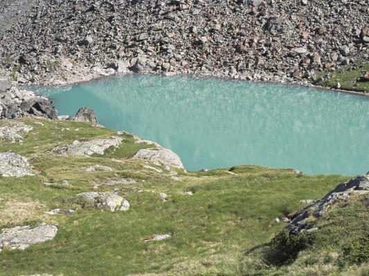 Alpen, Bergsee, Gradental, Mitten und Umgebung, Wasser, Österreich
