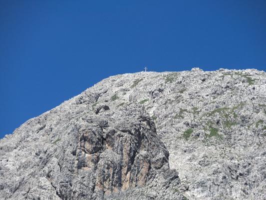 Alpen, Gipfel, Gipfelkreuz, Hochstadel, Lienzer Dolomiten, Mitten und Umgebung, Österreich