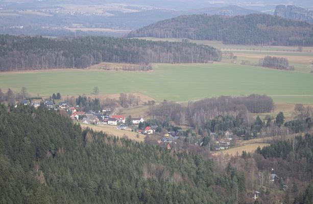 Cunnersdorf, Katzstein, Sächsische Schweiz
