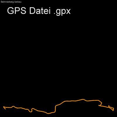 Länge 36km, Höhenmeter 275m, Fahrrad, Bahnradweg, Bahntrasse, Oberlausitz, Löbau, Schminke, Scharoun, GPX Route, GPS Daten