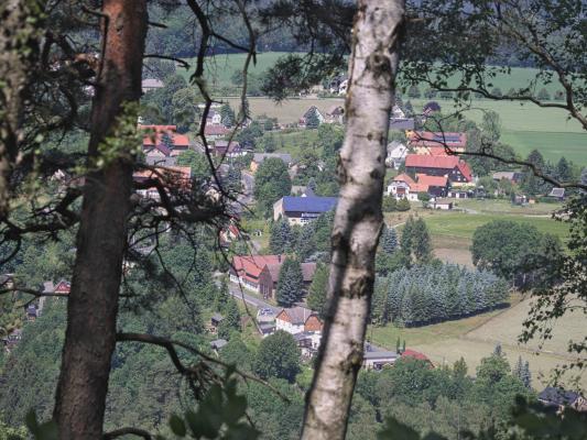 Kleinhennersdorf, Kohlbornstein, Sächsische Schweiz