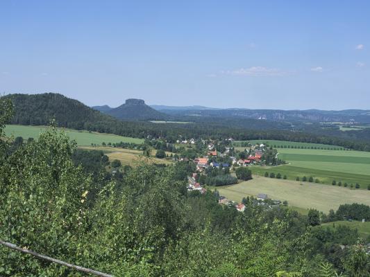 Kohlbornstein, Lilienstein, Sächsische Schweiz