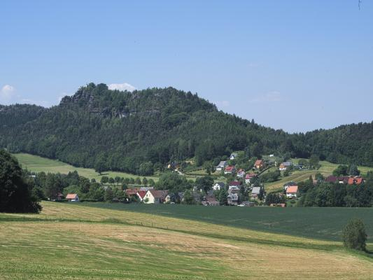 Papststein, Sächsische Schweiz