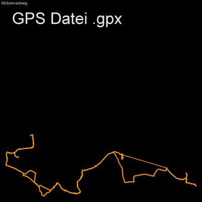 Fahrrad, Mühlen, Löbeauer Wasser, Mühlenradweg, Höhenmeter 300m, Länge 25km, GPX Route, GPS Daten